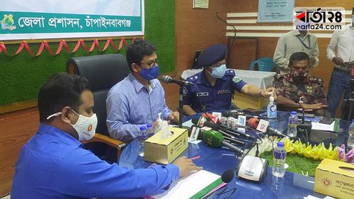 Lockdown extended in Chapainawabganj