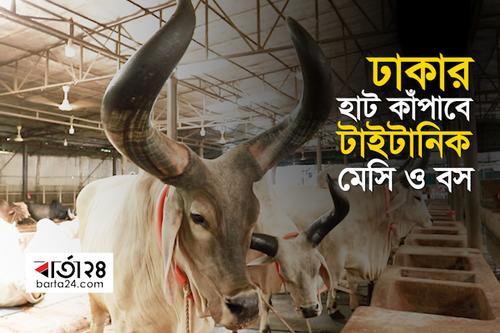 ঢাকার হাট কাঁপাবে 'টাইটানিক' 'মেসি' 'বস'