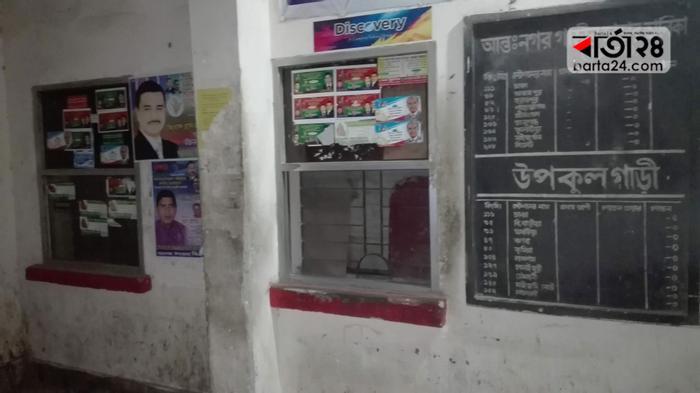 অরক্ষিত আশুগঞ্জ রেলস্টেশন