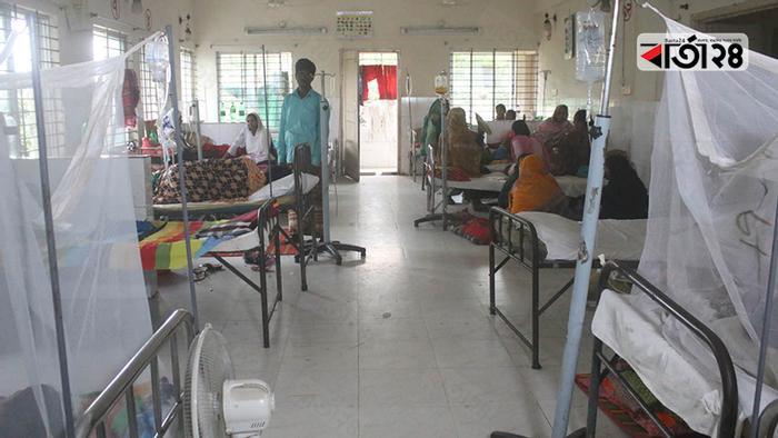 ডেঙ্গু রোগী সামলাতে দিশেহারা গাংনী হাসপাতাল কর্তৃপক্ষ