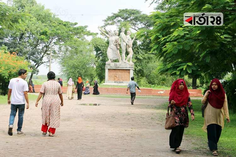 খুলনা বিশ্ববিদ্যালয়। ছবি: বার্তা২৪.কম
