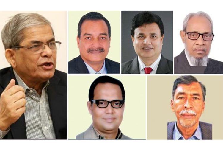একাদশ সংসদ নির্বাচনে নির্বাচিত বিএনপির ছয় সংসদ সদস্য/ ছবি: সংগৃহীত