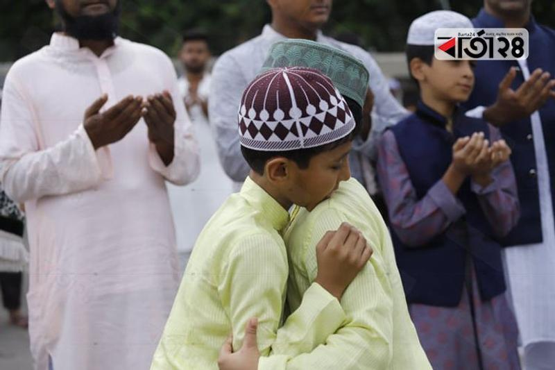 Muslims celebrated Eid-ul-Azha