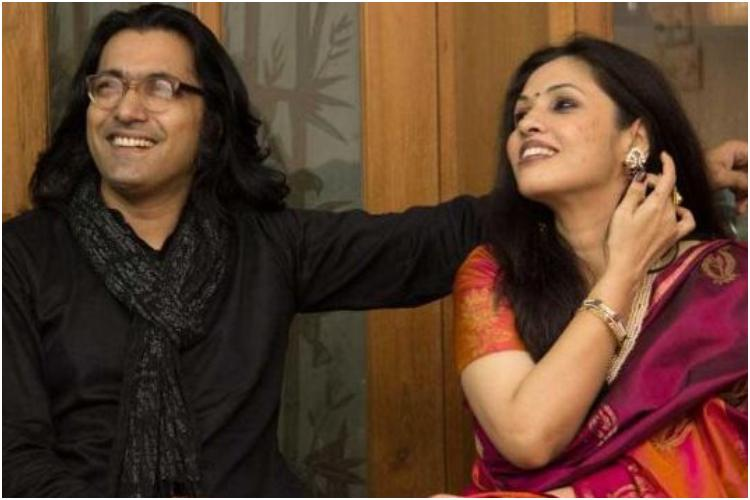 'শিকলবাহা' ছবির পরিচালক কামার আহমাদ সাইমন ও প্রযোজক সারা আফরীন
