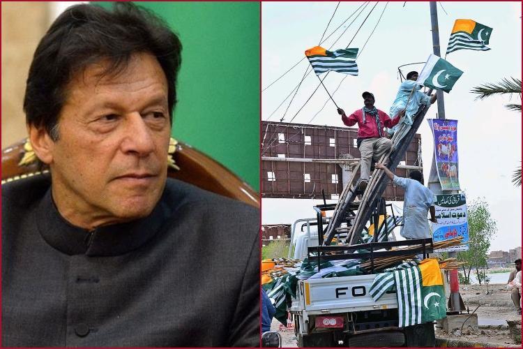 আজাদ কাশ্মীর যাচ্ছেন পাকিস্তানের প্রধানমন্ত্রী ইমরান খান, ছবি: সংগৃহীত