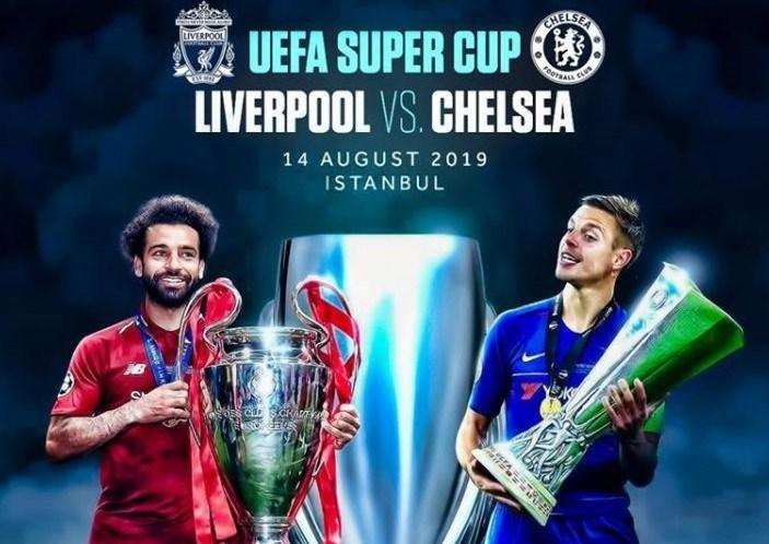 Liverpool and Chelsea prepare for UEFA Super Cup