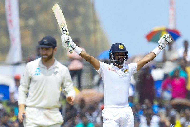 Karunaratne propels Sri Lanka to win first test against New Zealand