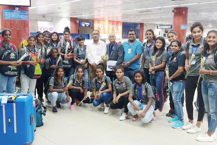ঢাকায় এসেছে ভারতের সাই জাতীয় হকি একাডেমির নারী দল
