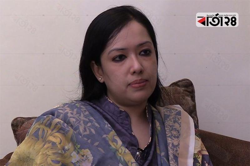 BNP MP Rumeen Farhana, /Photo: Barta24.com