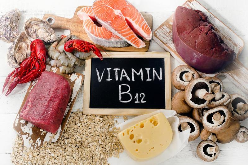 Vitamin b12 rich foods.
