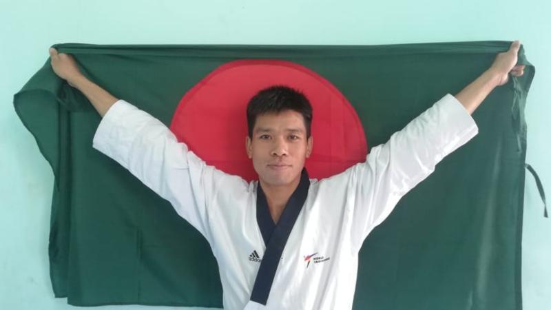 Dipu Chakma wins first gold medal for bangladesh
