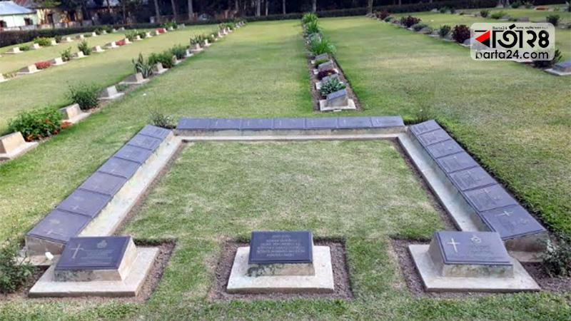 Mainmati War Cemetery bears dreadful memory of 2nd World War