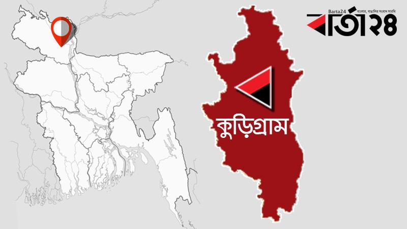 কুড়িগ্রাম জেলার মানচিত্র