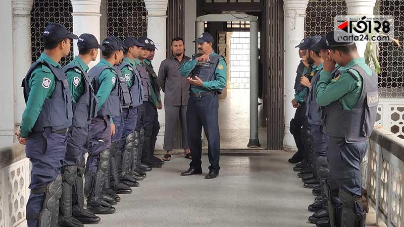 security beefed up in the court