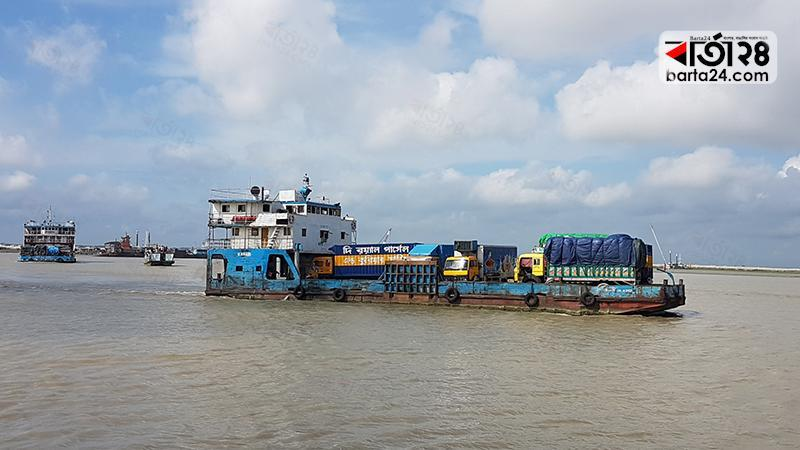 Ferry service resumes, Photo: Barta24