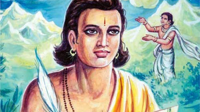 ভারতীয় ভাষায় চর্চিত সাহিত্য তাকে পূর্বপুরুষ গণ্য করে