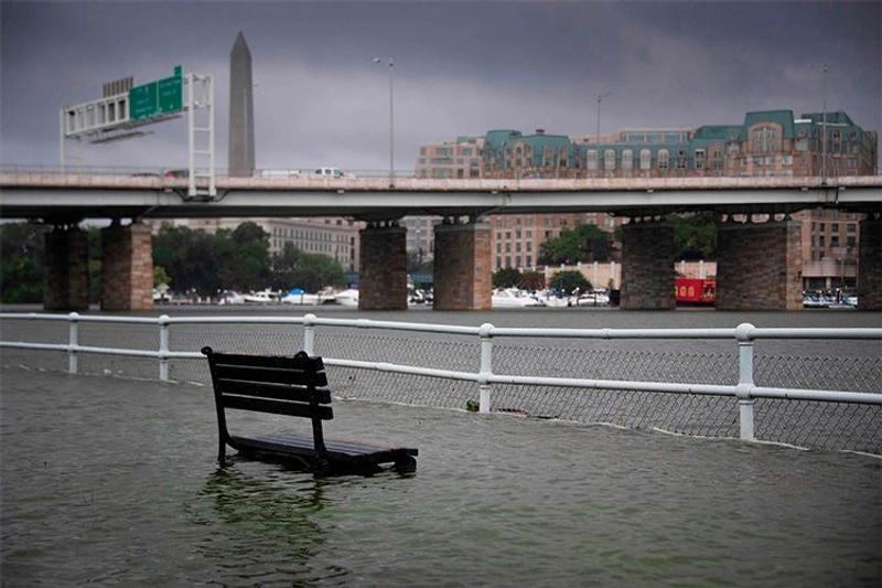 Colossal flash flood hit Washington D.C.