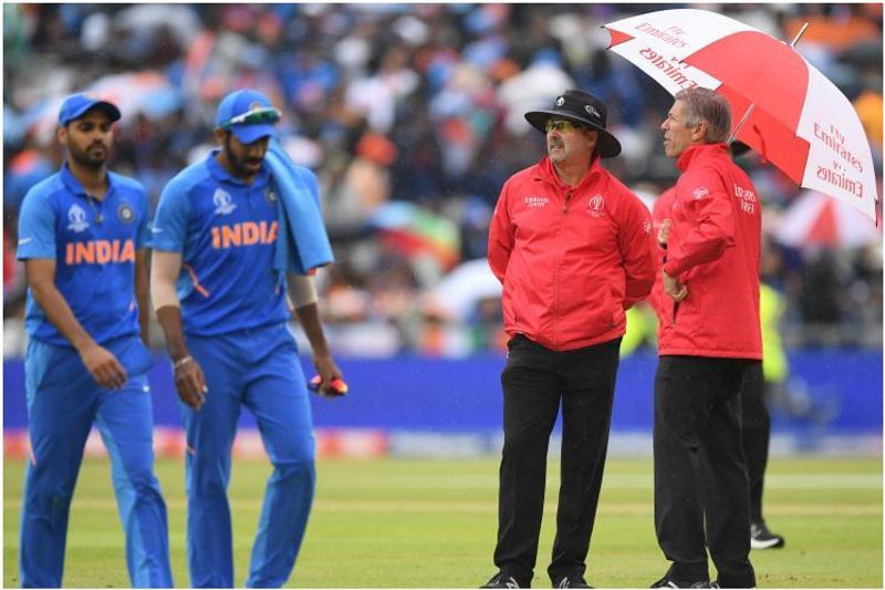 Rain forces India-New Zealand semi into reserve day