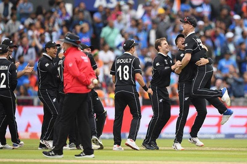 Black caps cruised to World Cup final