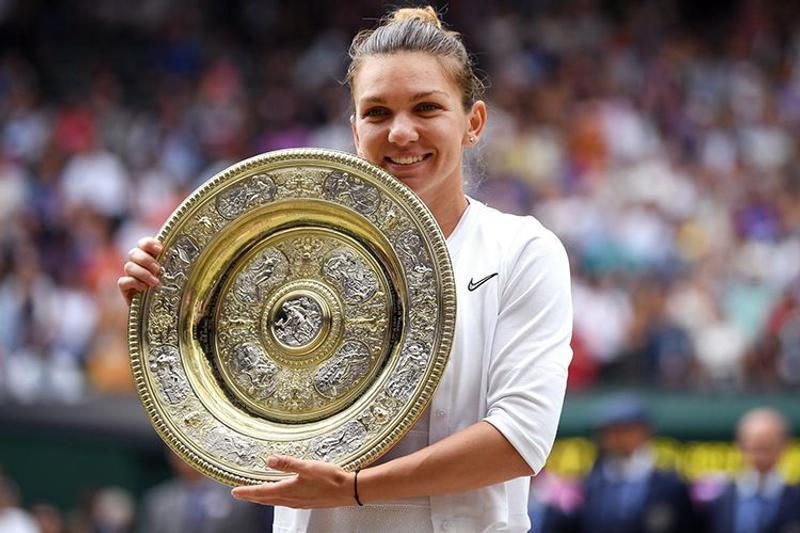 Simona Halep win first Wimbledon title./Photo: Collected