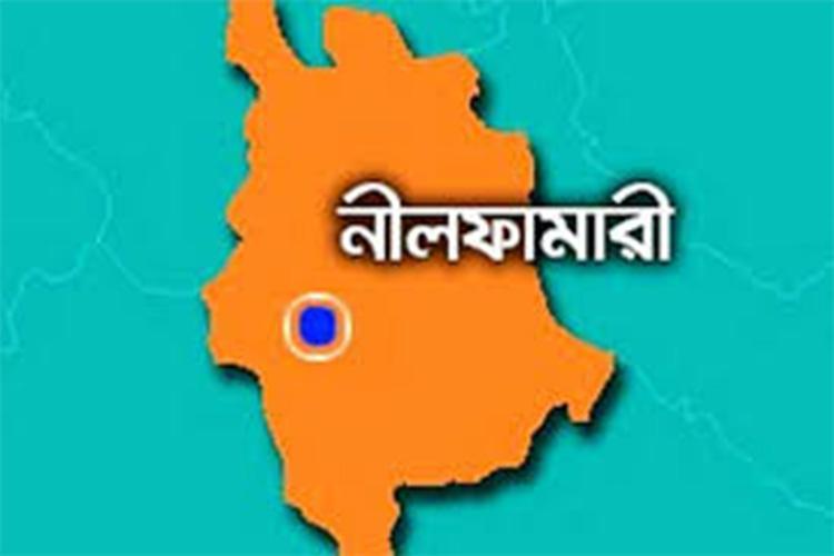 নীলফামারী জেলা ম্যাপ, ছবি: সংগৃহীত