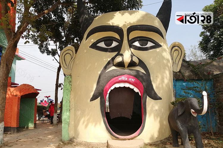 রংপুরের পীরগঞ্জের আনন্দ নগর/ ছবি: বার্তা২৪.কম
