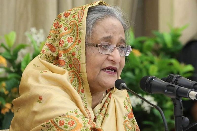 Prime Minister Sheikh Hasina, photo: Focus Bangla