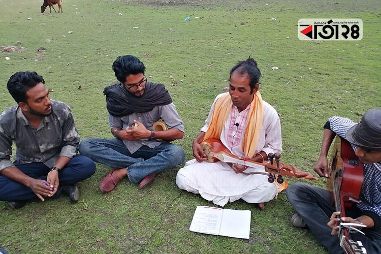 গানই দুলালের সাধনা, ছবি: বার্তা২৪