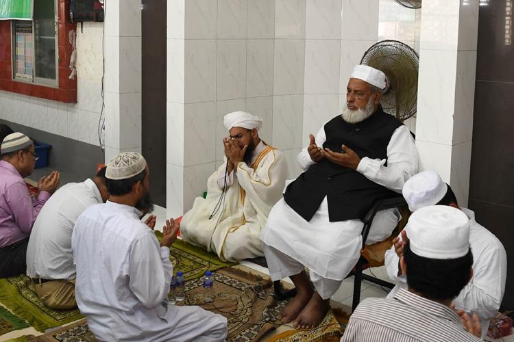 সচিবালয় মসজিদের মিলাদে অংশ নিয়েছেন ধর্ম প্রতিমন্ত্রী আলহাজ এডভোকেট শেখ মো. আব্দুল্লাহ, ছবি: সংগৃহীত