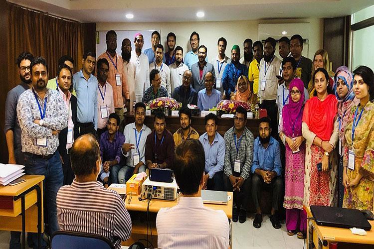 ESTex-BUET organized workshop on ETP, STP and Rainwater Harvesting