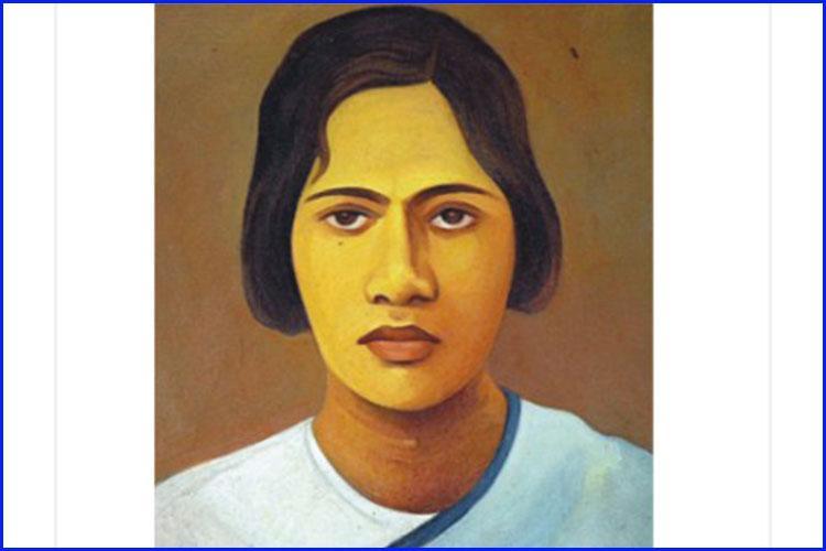 ব্রিটিশবিরোধী স্বাধীনতা আন্দোলনের প্রথম শহীদ হওয়া বাঙালি নারী প্রীতিলতা, ছবি: সংগৃহীত
