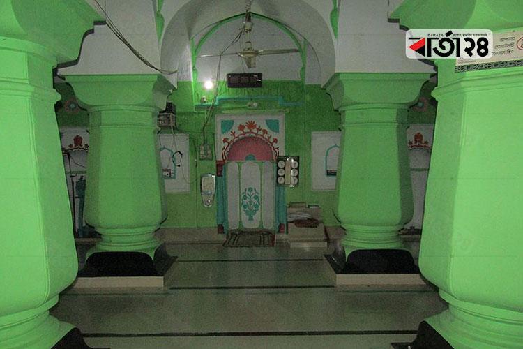 লালদিঘী মসজিদ, বদরগঞ্জ, রংপুর, ছবি: বার্তা২৪