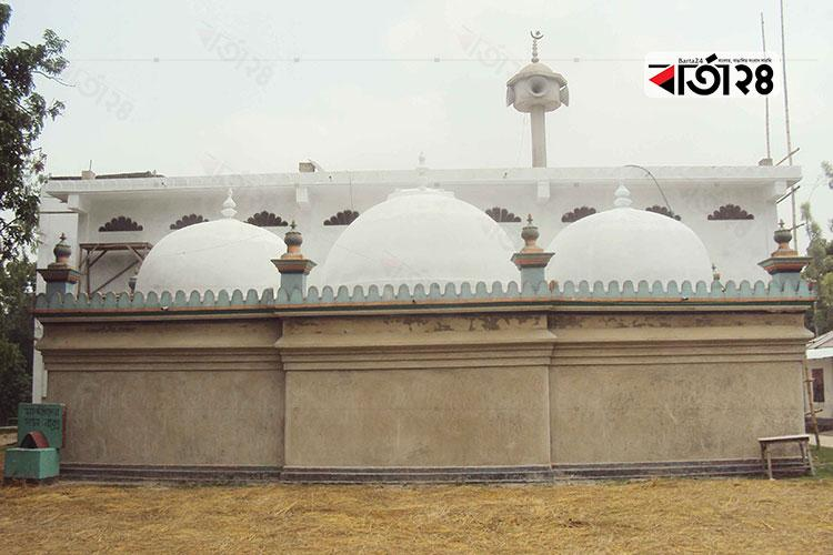 জামালপুর শাহী মসজিদ, সাদুল্লাপুর, গাইবান্ধা, ছবি: বার্তা২৪.কম