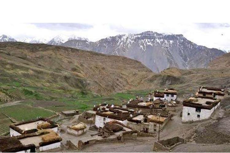 ভারতের হিমাচল প্রদেশের তাশিগাং গ্রাম / ছবি: সংগৃহীত
