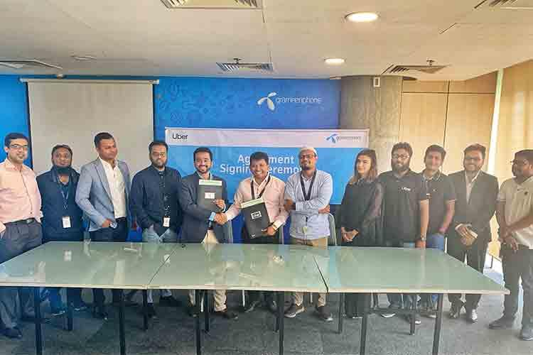 Grameenphone to support Uber drivers