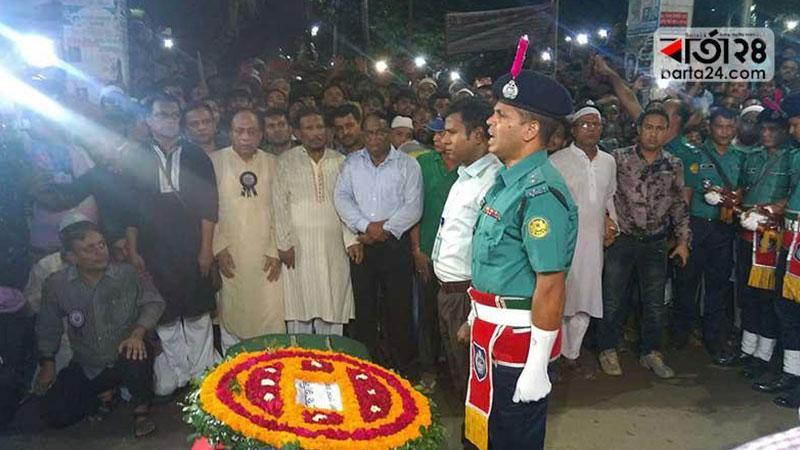 Sadeq Hossain Khoka was laid to eternal rest, photo: barta24