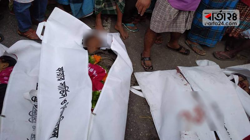 Six killed in Panchagarh road crash