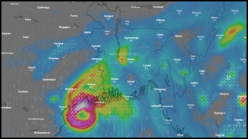 Cyclone Bulbul nears Bangladesh coasts