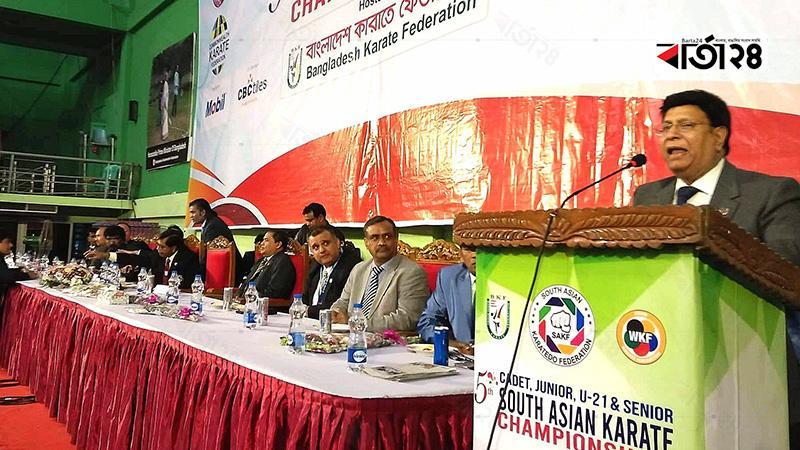 Foreign minister Dr A K Abdul Momen, Photo: Barta24.com