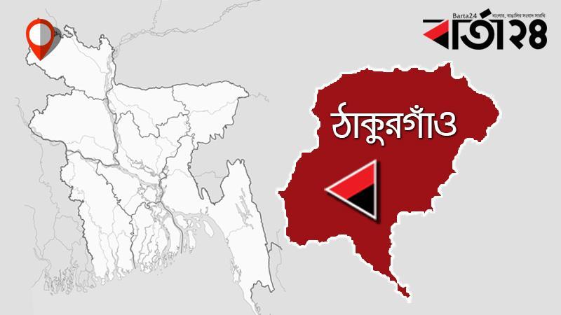 ঠাকুরগাঁও জেলার মানচিত্র