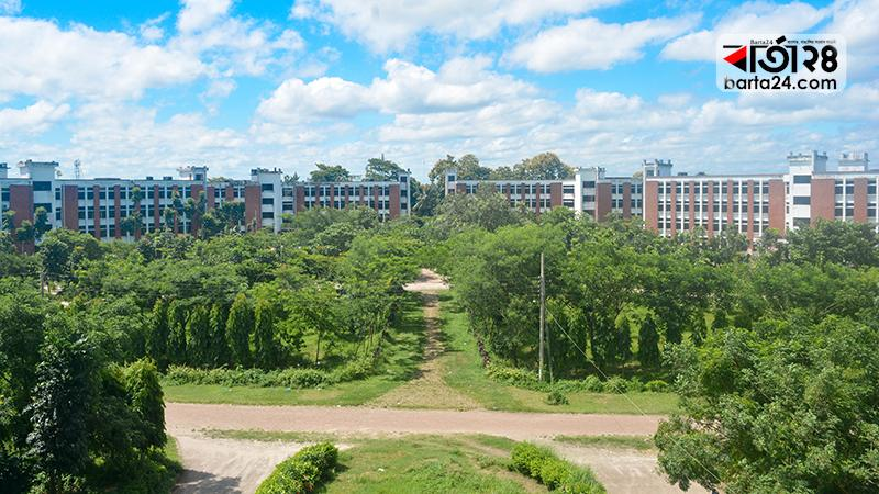 বেগম রোকেয়া বিশ্ববিদ্যালয় ক্যাম্পাস, ছবি: বার্তাটোয়েন্টিফোর.কম