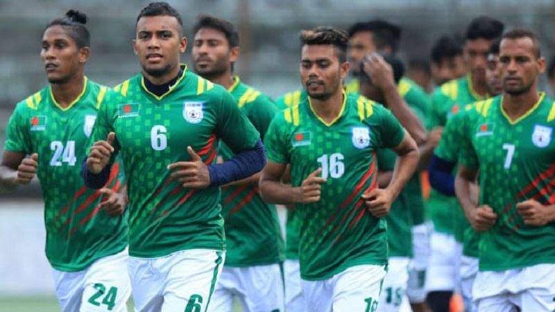 বাংলাদেশ ফুটবল দল, ছবি: বাফুফে