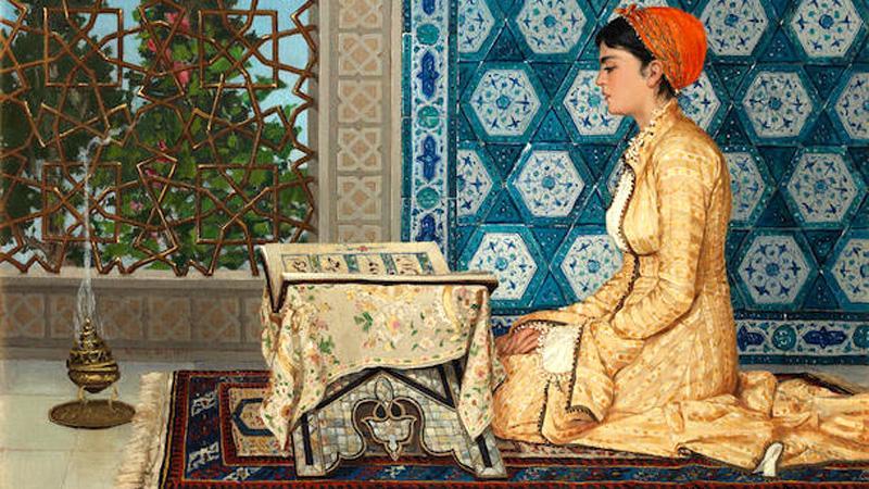 উসমান হামদি বের আঁকা চিত্রকর্ম, ছবি: সংগৃহীত
