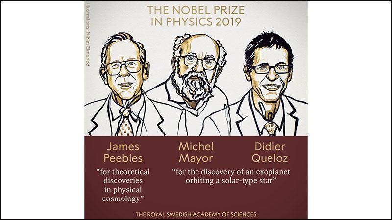 Three scientists get Nobel Prize for physics