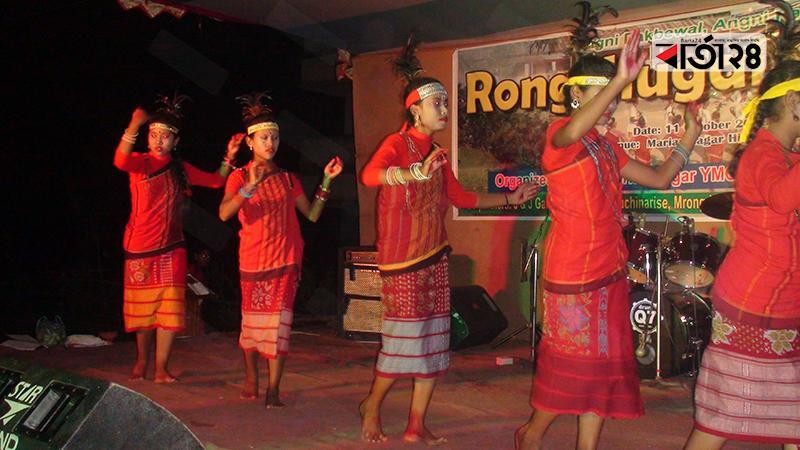 গারোদের রংচুগালা উৎসব, ছবি: বার্তাটোয়েন্টিফোর.কম