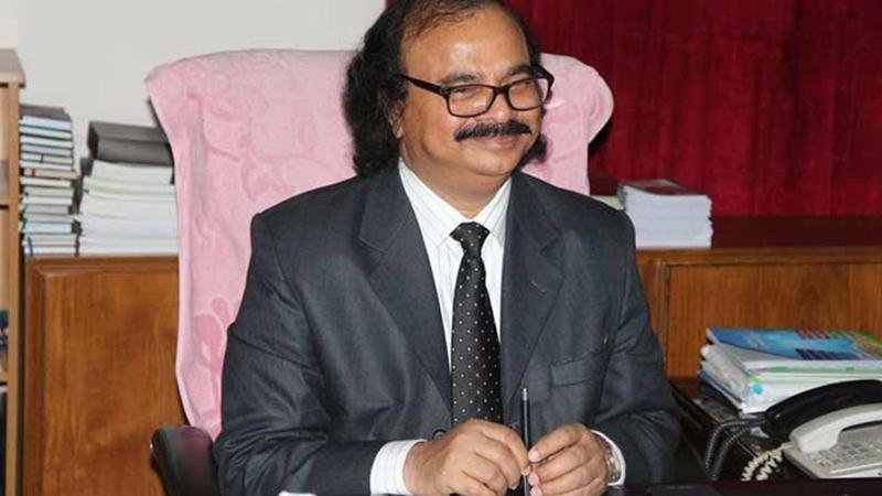 VC of JNU) Dr. Mizanur Rahman, photo: collected