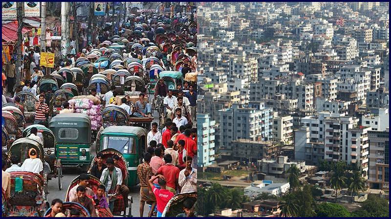 দ্রুত বর্ধনশীল শহরের তালিকায় ঢাকা, ছবি: সংগৃহীত