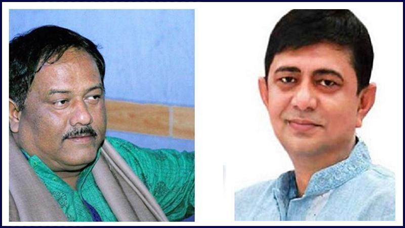 নির্মল গুহ ও গাজী মেসবাউল হোসেন সাচ্চু, ছবি: সংগৃহীত