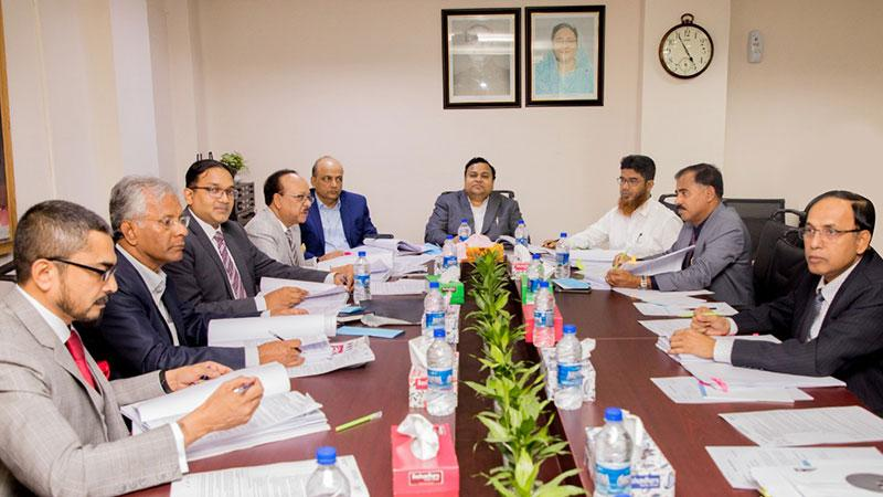 Board Meeting of Padma Bank held