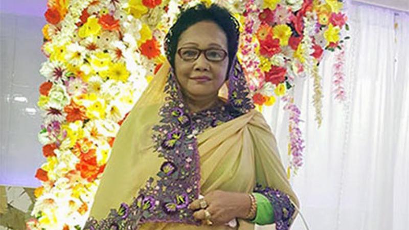মহিলা দলের নেত্রী রাজিয়া আলীম, ছবি: সংগৃহীত